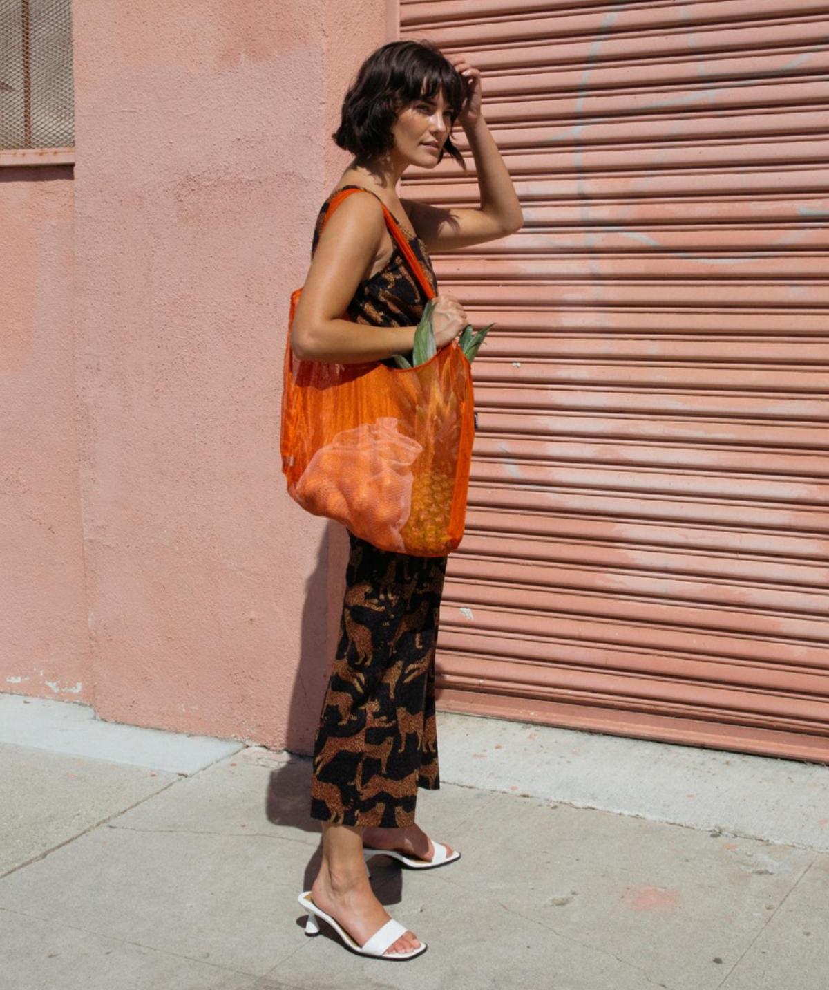 1つは持っていたい!暑い夏に大活躍のメッシュのエコバッグに新色が登場!